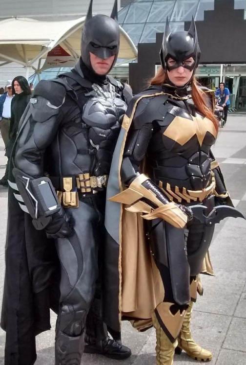 batman the dark knight cosplay