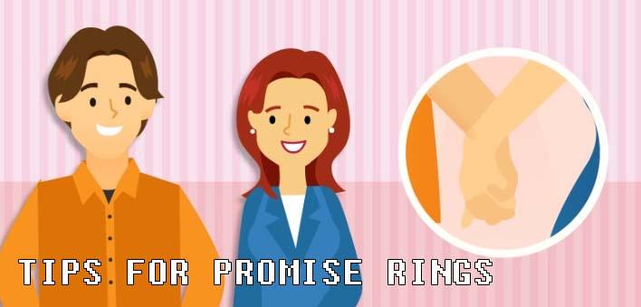 TIPS FOR PROMISE RINGS